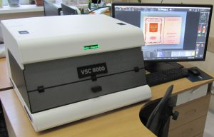 видеоспектральный компаратор VSC 8000